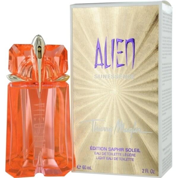 Thierry Mugler 'Alien Sunessence' Women's 2-ounce Eau de Toilette Spray (Saphir Soleil Edition)