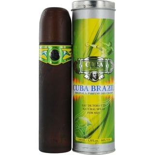 Cuba 'Cuba Brazil' Men's 3.4-ounce Eau de Toilette Spray