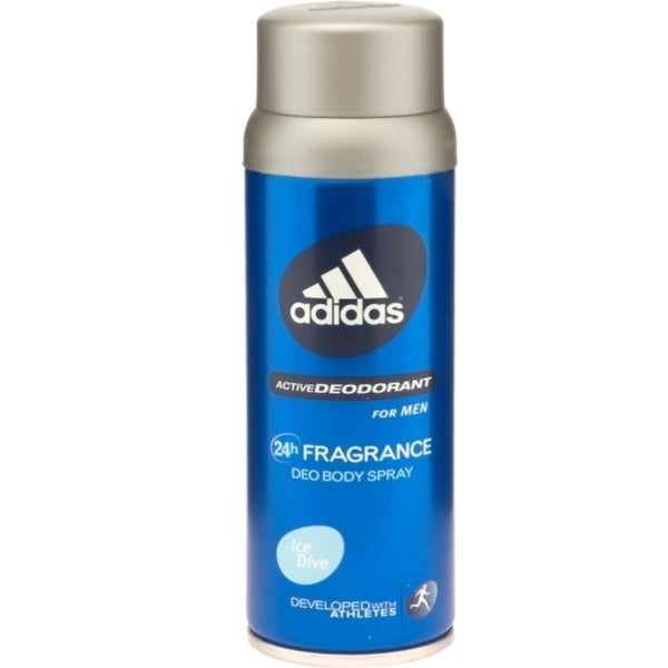 Adidas Ice Dive Men's 5-ounce Deodorant Body Spray (Developed With The Athletes)