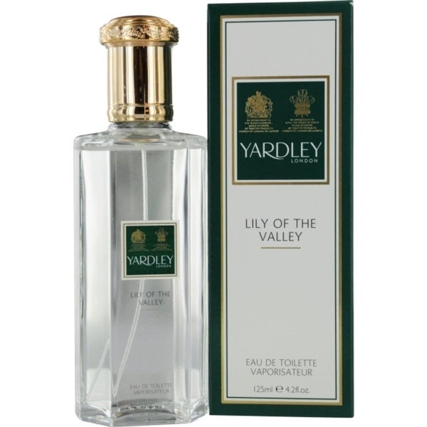 Yardley Lily Of The Valley 'Yardley' Women's 4.2-ounce Eau de Toilette Spray