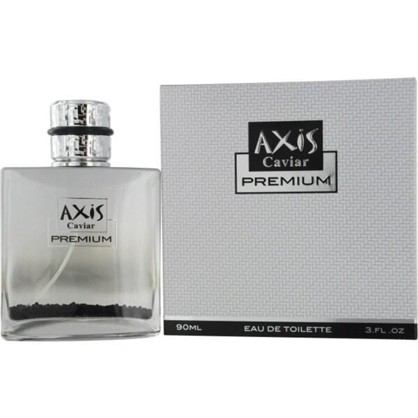 SOS Creations 'Axis Caviar Premium' Men's 3-ounce Eau de Toilette Spray