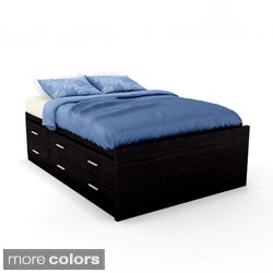 Sonax Willow Double Captains 12-drawer Storage Bed