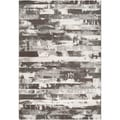 Paramount Grey Abstract Rug (2' x 3')