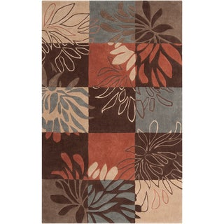 Hand-tufted Plainview Grey Rug (2' x 3')