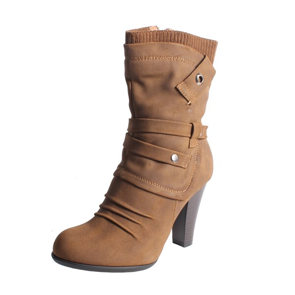 Blossom by Beston Women's 'Dove-1' Mid-calf Boots