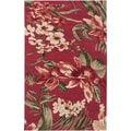 Hand-tufted Presidio Red Wool Rug (2&#39; x 3&#39;)