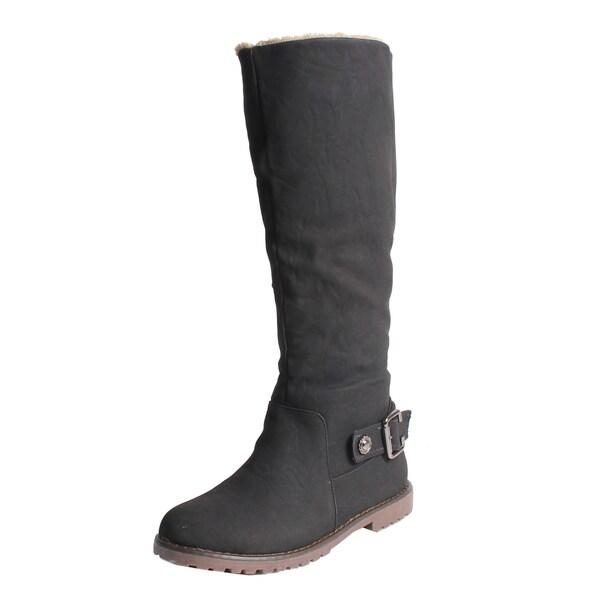 Blossom by Beston Women's 'Urvasi-1' Knee High Boots