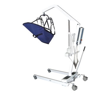 Electric Patient Lift with Rechargeable Battery