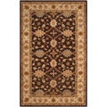 Hand-tufted Redlands Brown Wool Rug (2' x 3')
