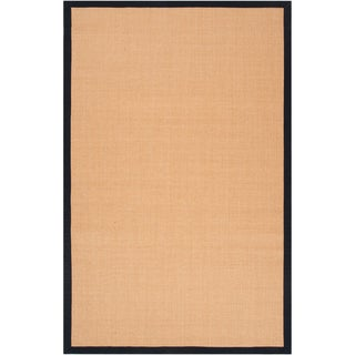 Woven Realitos Navy Natural Fiber Sisal Rug (9' x 12')
