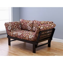 Alite Lounger Espresso Futon Frame and Mattress Set