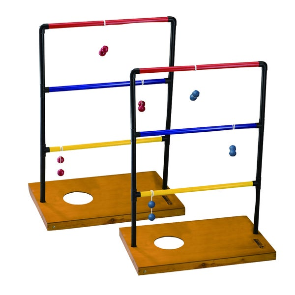 Trio Toss Deluxe Outdoor Game Combo Set by Triumph Sports USA