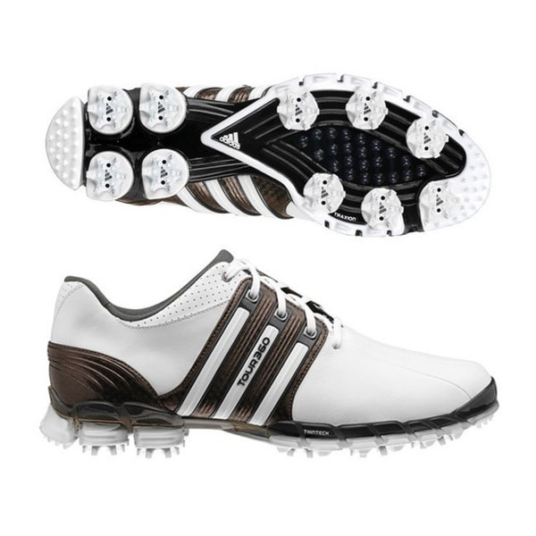 Adidas Men's Tour 360 ATV White/ Scout/ White Golf Shoes