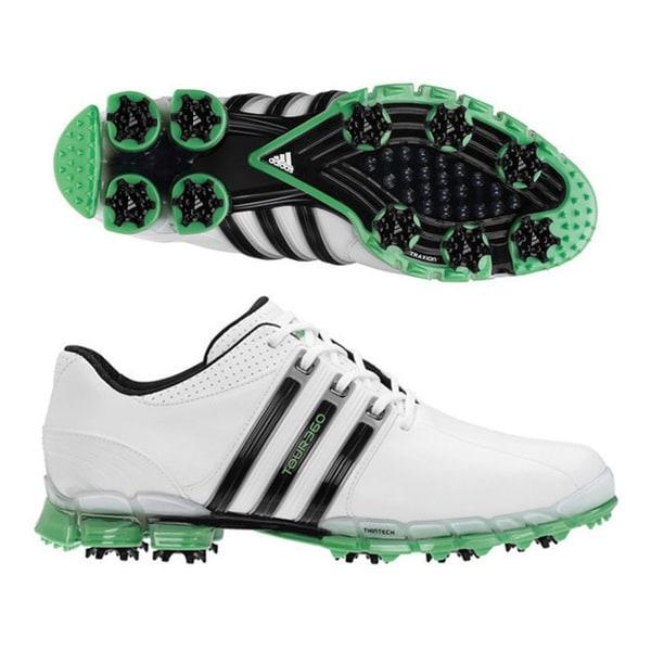Adidas Men's Tour 360 ATV White/ Black/ Slime Golf Shoes