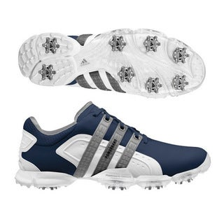 Adidas Powerband 4.0 Navy/ White/ Silver Golf Shoes