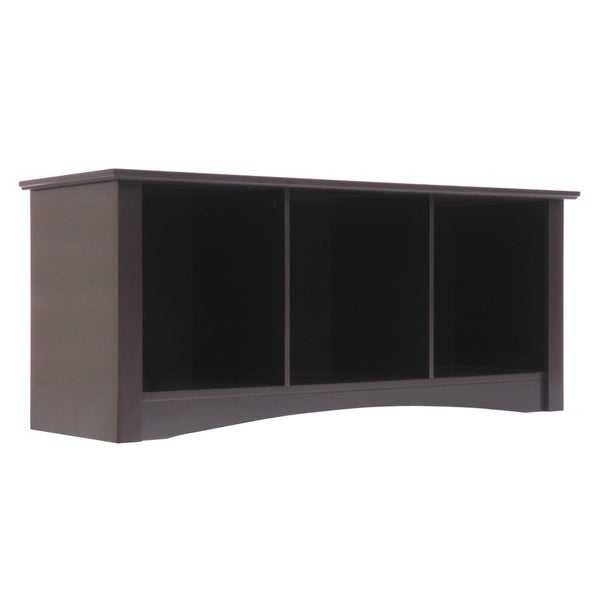 Stanton Dark Espresso Bench by Elegant Home Fashions