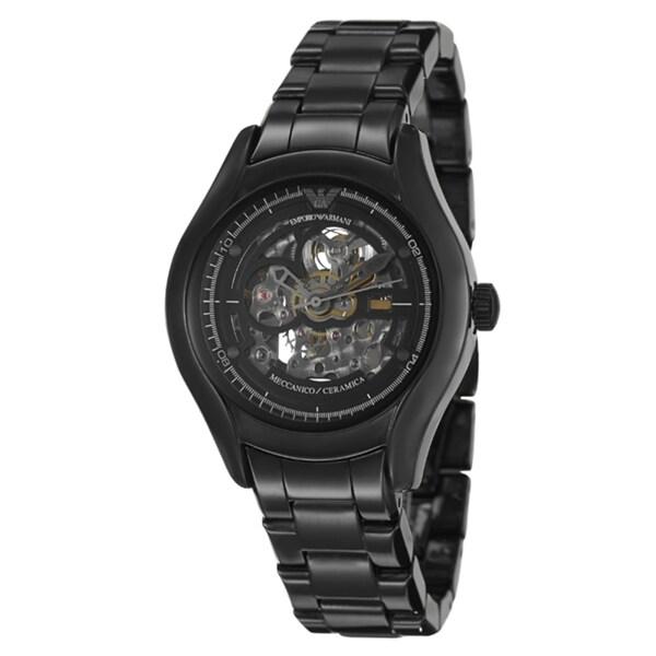 Emporio Armani Men's 'Ceramica' Ceramic Automatic Watch