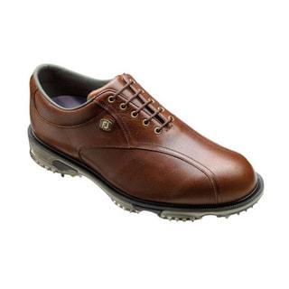 FootJoy Men's DryJoys Tour Chestnut Brown Golf Shoes