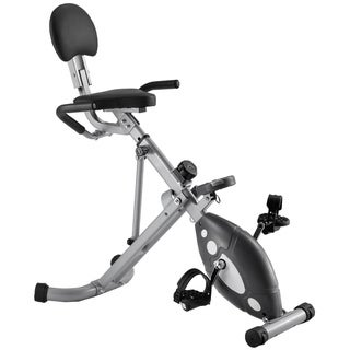 Sunny Health Fitness Folding Recumbent Bike