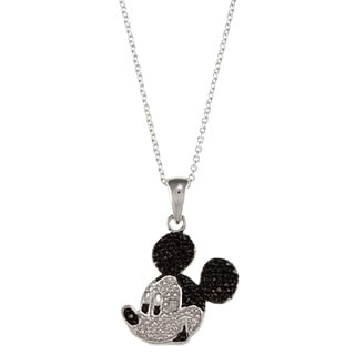 Disney Sterling Silver Mickey Mouse Pendant