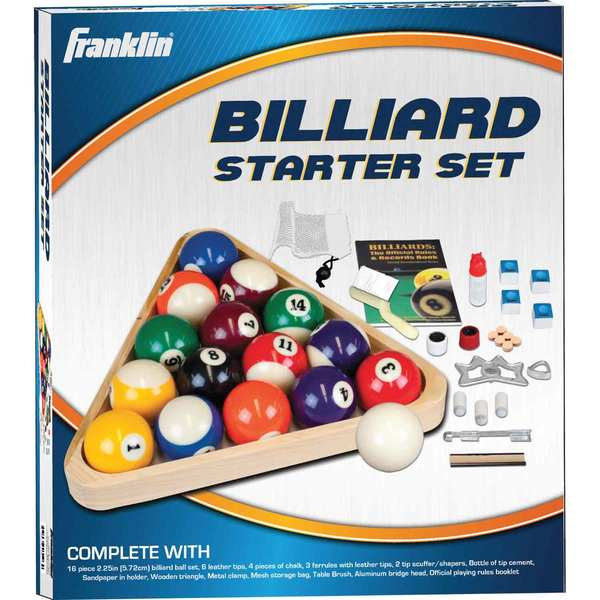 Franklin Billiards Deluxe Starter Kit
