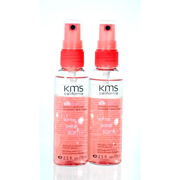 KMS California Silk Sheen 2.5-ounce Leave-in Conditioner (Pack of 2)