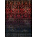 Ikat Fire Multi Wool Rug (1'8 x 2'8)