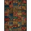 Patchwork Multi Wool Rug (5'3 x 7'9)