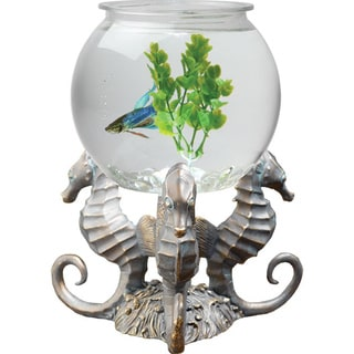 KollerCraft Betta Treasures 1-Gallon Sea Horses Aquarium