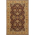Hand-tufted Scenic Brown Wool Rug (2' x 3')