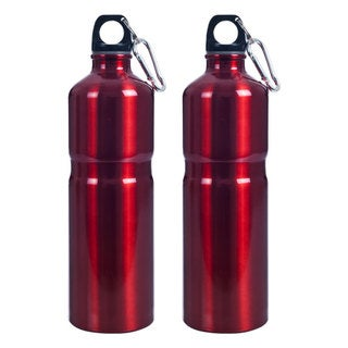 Whetstone Stainless Steel 25-ounce Water Bottles (Pack of 2)