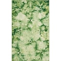 Hand-woven Summer Green Wool Rug (2' x 3')