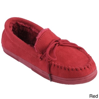 Journee Collection Women's 'Jewels' Faux Suede Moccasin Slippers