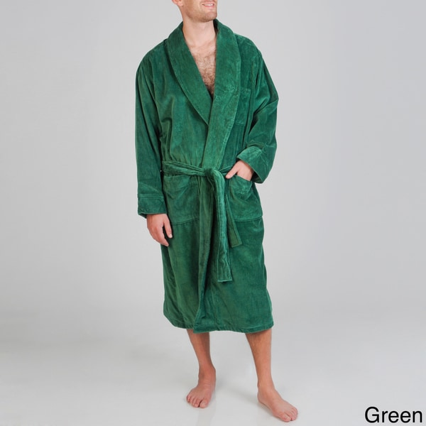 Izod Men's Terry Velour Robe