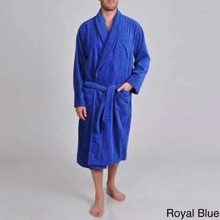 Izod Men's Terry Velour Sash-tied Robe