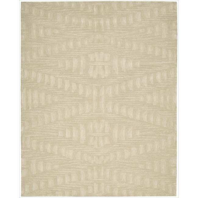 Nourison Hand-tufted Moda Cream Rug (9'6 x 13'6)