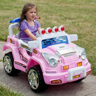 Lil Rider Pink Land Cruiser Jeep with Remote