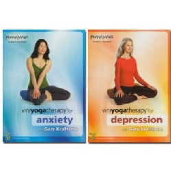 Viniyoga Therapy for Anxiety and Depression (DVD)