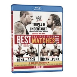 The Best Pay-Per-View Matches: 2012 (Blu-ray Disc)