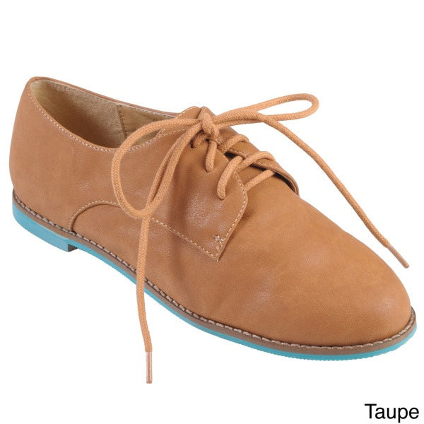 Hailey Jeans Co. Women's 'Riverside' Round Toe Lace-up Oxfords