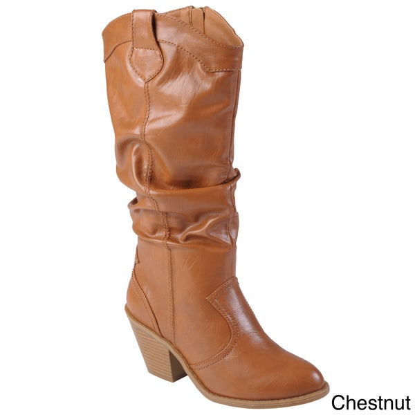 Hailey Jeans Co. Women's 'Steph' High Heel Slouchy Boot