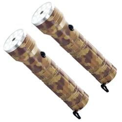 Whetstone 15 LED Camping Flashlight with Laser (Set of 2)