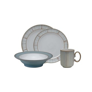 Denby 'Mist Falls' Stoneware 16-piece Dinnerware Set