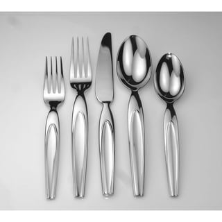 Laurel 40-piece Stainless Steel Flatware Set
