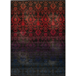 Ikat Fire Multi Wool Rug (9'10 x 12'6)