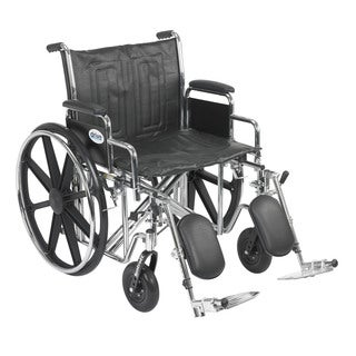 Sentra Bariatric EC Heavy-duty Wheelchair with Riggings