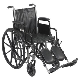 Drive Medical Silver Sport 2 Wheelchair with Various Arms Styles