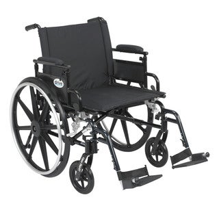 Viper Plus GT Wheelchair with Flip-back Adjustable Arms with Various Front Rigging