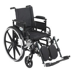 Viper Plus GT Wheelchair with Flip-back Adjustable Padded Arms