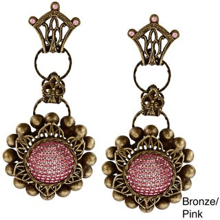 Sweet Romance Mesh Flower Earrings